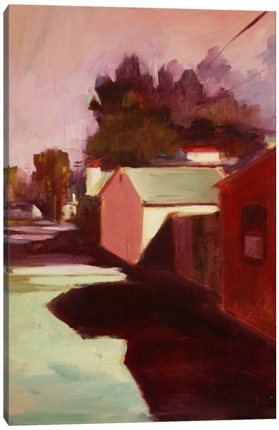 Late Afternoon II Canvas Art Print
