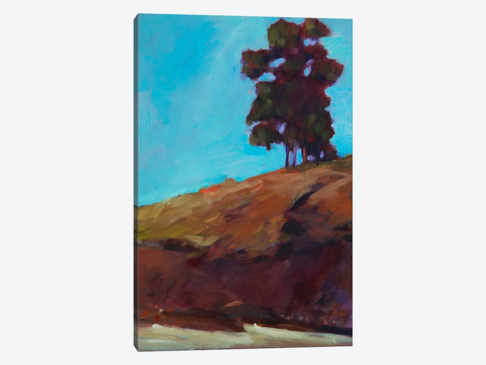 Lone Tree by Eddie Barbini 1-piece Canvas Print