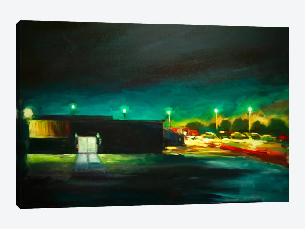 Night Time by Eddie Barbini 1-piece Canvas Wall Art