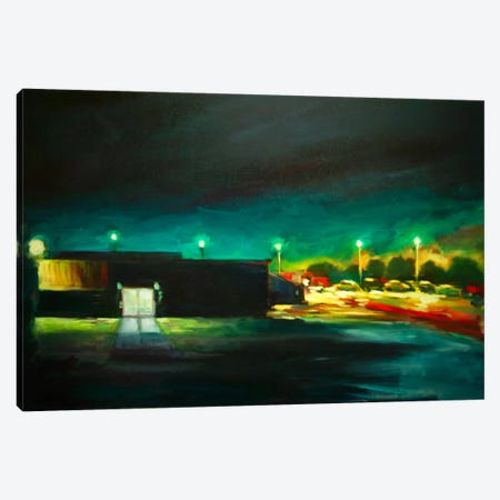 Night Time Canvas Print #EDD23} by Eddie Barbini Canvas Art