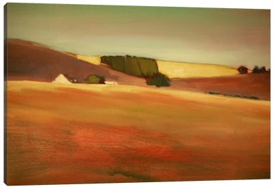 Over The Hill I Canvas Art Print
