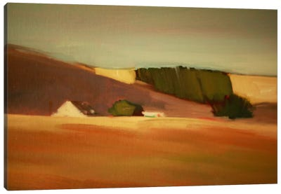 Over The Hill II Canvas Art Print