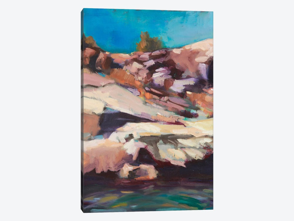 Rugged Shore by Eddie Barbini 1-piece Canvas Wall Art