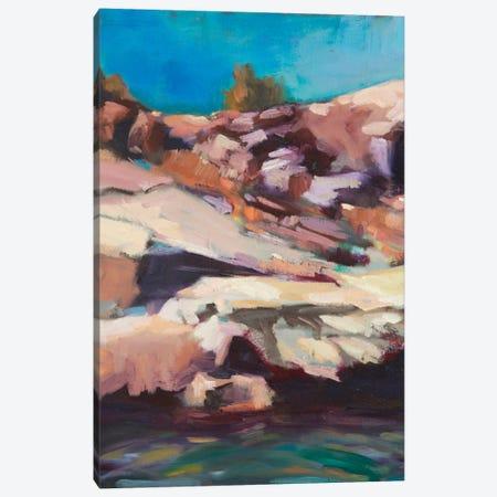 Rugged Shore Canvas Print #EDD30} by Eddie Barbini Canvas Art Print