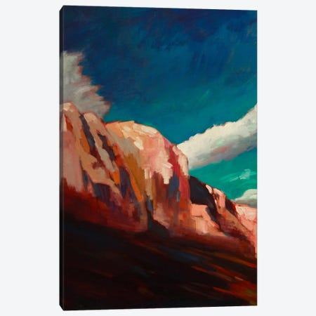 The Cliffs Canvas Print #EDD35} by Eddie Barbini Canvas Art