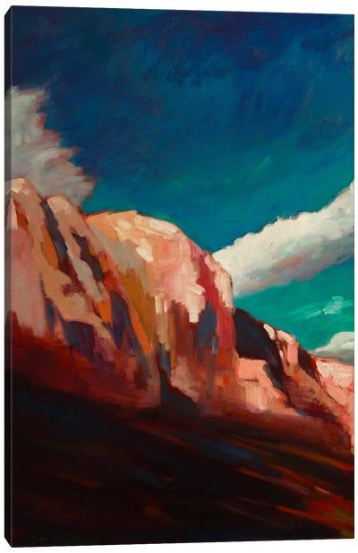 The Cliffs Canvas Print #EDD35