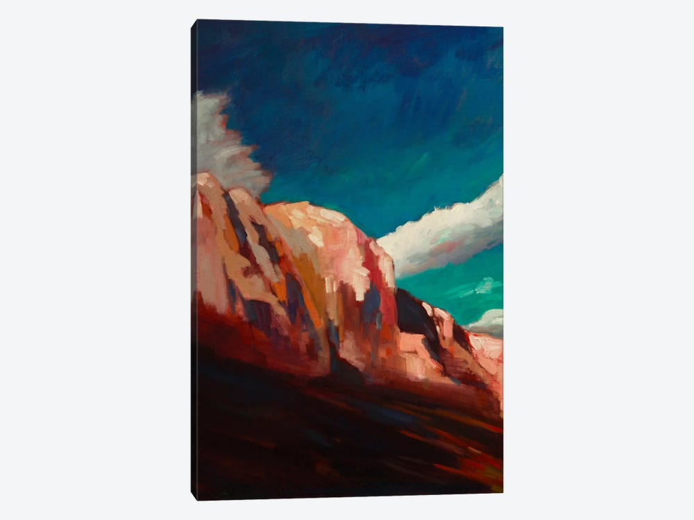 The Cliffs 1-piece Canvas Art Print