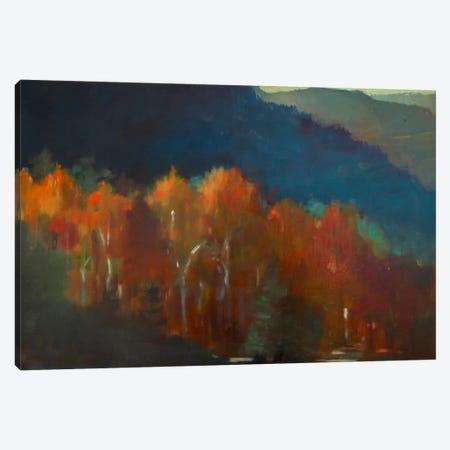 Autumn Forest Canvas Print #EDD3} by Eddie Barbini Art Print