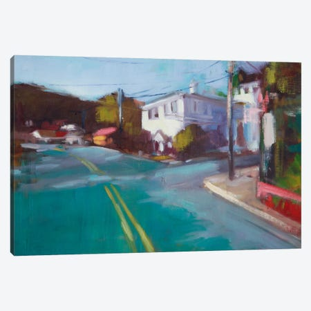 The Neighborhood II Canvas Print #EDD42} by Eddie Barbini Canvas Wall Art