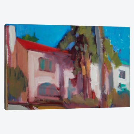 The Neighborhood III Canvas Print #EDD43} by Eddie Barbini Canvas Art