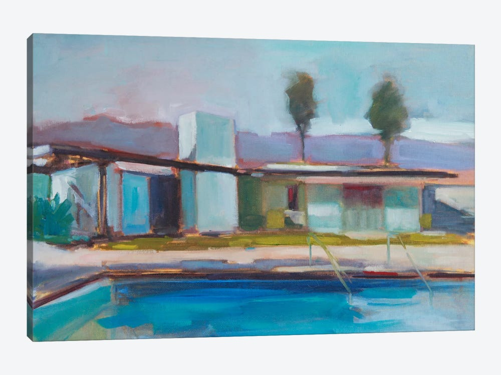 The Pool by Eddie Barbini 1-piece Canvas Wall Art