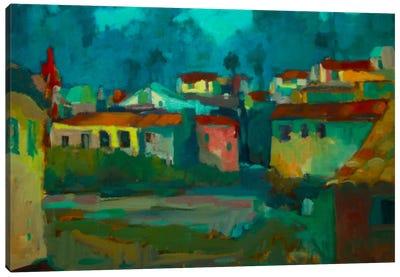 The Village Canvas Print #EDD46
