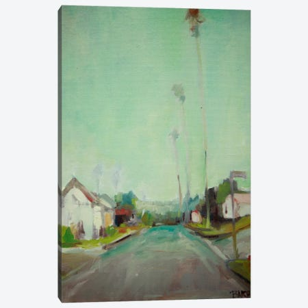 Through The Neighborhood Canvas Print #EDD48} by Eddie Barbini Canvas Wall Art