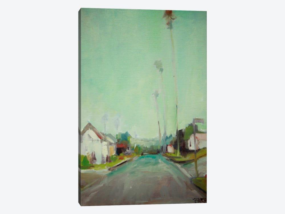 Through The Neighborhood by Eddie Barbini 1-piece Canvas Art Print