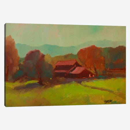 Tucked Away I Canvas Print #EDD49} by Eddie Barbini Canvas Wall Art