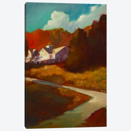 Up To The House Canvas Print #EDD51} by Eddie Barbini Art Print