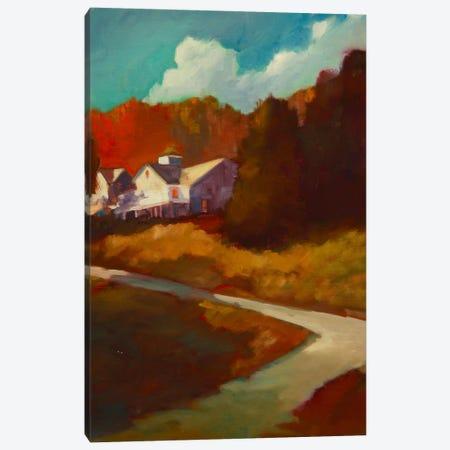 Up To The House Canvas Print #EDD51} by Eddie Barbini Art Print