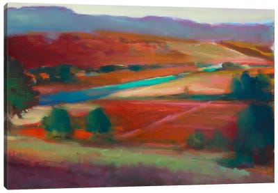Valley View I Canvas Art Print