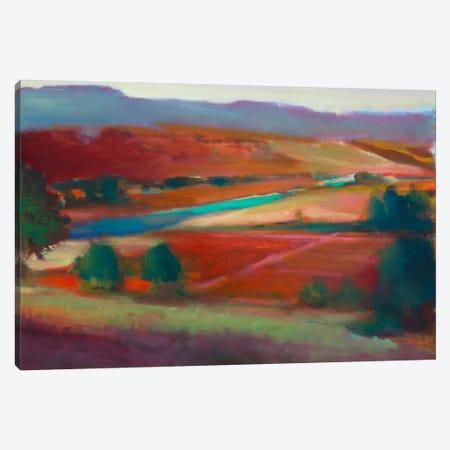 Valley View I 3-Piece Canvas #EDD52} by Eddie Barbini Art Print