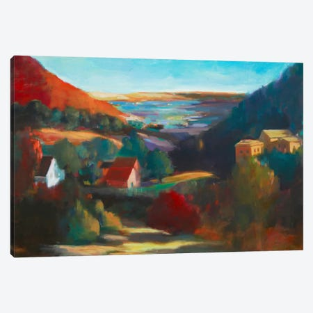 Valley View II Canvas Print #EDD53} by Eddie Barbini Canvas Art Print
