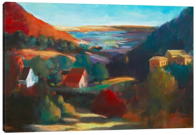 Valley View II Canvas Art Print