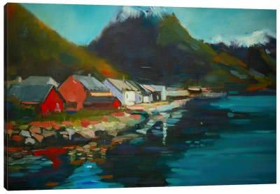 Waterside Canvas Print #EDD54