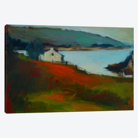 By The Water I Canvas Print #EDD5} by Eddie Barbini Canvas Artwork