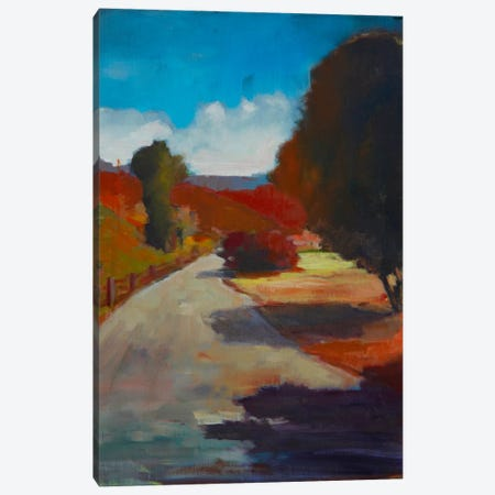 Country Road I Canvas Print #EDD8} by Eddie Barbini Canvas Art Print
