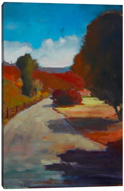 Country Road I Canvas Art Print