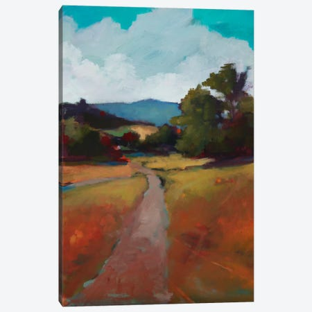 Country Road II Canvas Print #EDD9} by Eddie Barbini Art Print