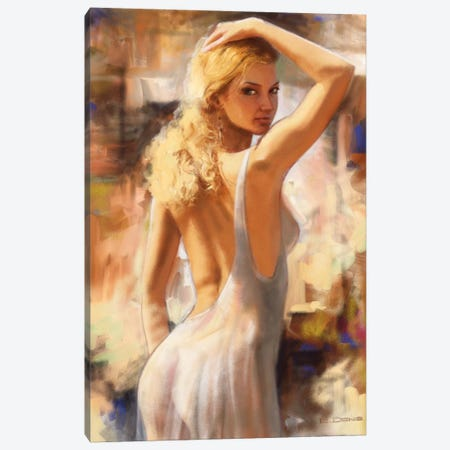 Attractive I Canvas Print #EDE1} by E Denis Canvas Art