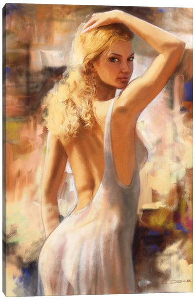 Attractive I Canvas Art Print