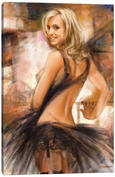 Attractive II Canvas Art Print