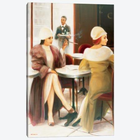 Cafe I Canvas Print #EDE3} by E Denis Canvas Art