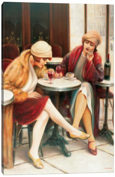 Cafe II Canvas Art Print