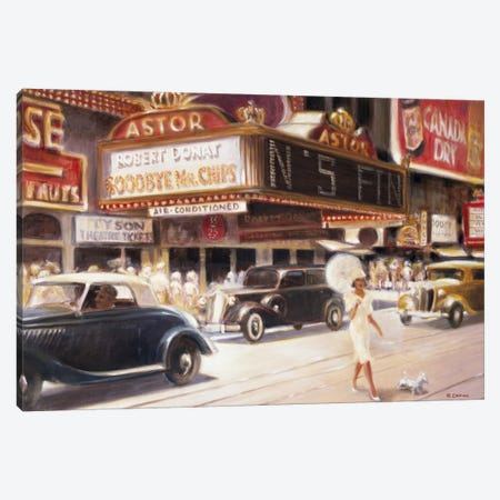 Los Angeles I Canvas Print #EDE8} by E Denis Canvas Wall Art