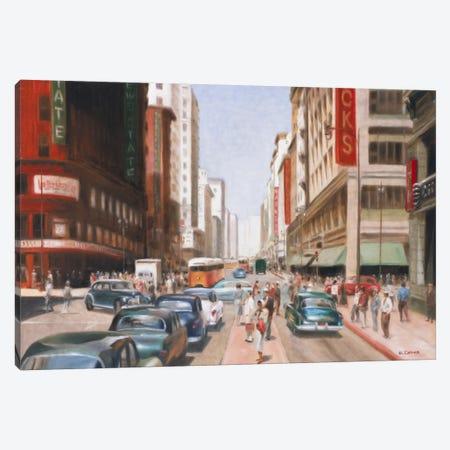 Los Angeles II Canvas Print #EDE9} by E Denis Canvas Art