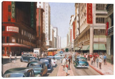 Los Angeles II Canvas Art Print
