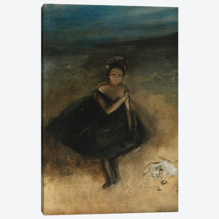 Dancer with a Bouquet Canvas Print #EDG24} by Edgar Degas Canvas Wall Art