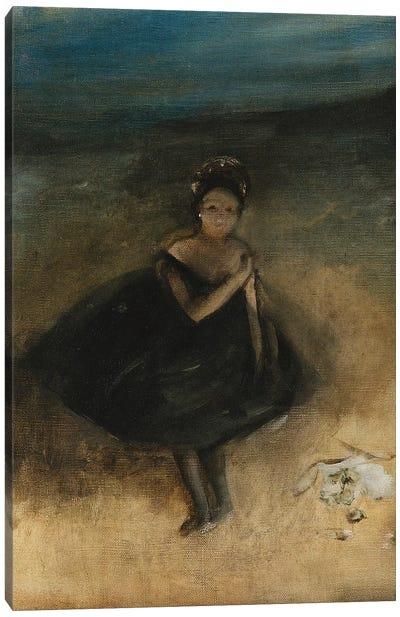 Dancer with a Bouquet Canvas Art Print