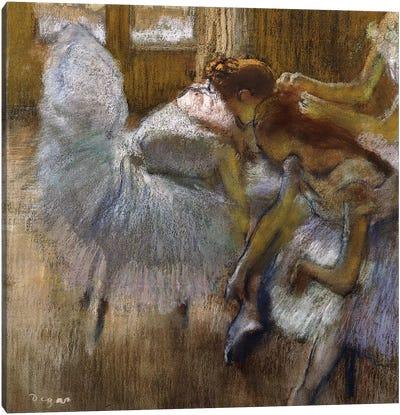 Dancers at Rest, c.1885  Canvas Art Print