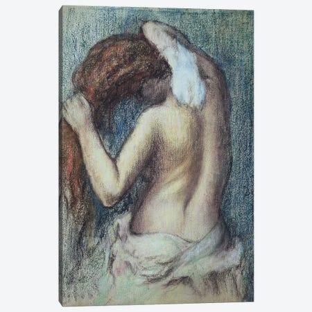 Femme a sa Toilette, c.1895  Canvas Print #EDG32} by Edgar Degas Canvas Art