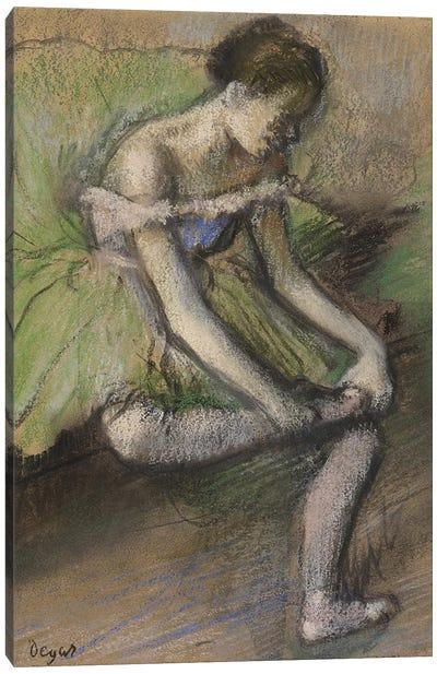 La Jupe Verte, c.1896  Canvas Art Print