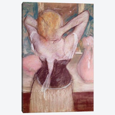 La Toilette  Canvas Print #EDG42} by Edgar Degas Art Print