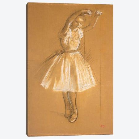 Little Dancer, 1875  Canvas Print #EDG44} by Edgar Degas Canvas Artwork