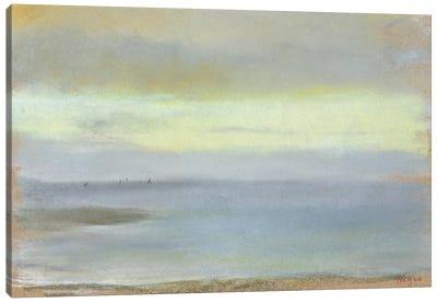 Marine sunset, c.1869  Canvas Art Print