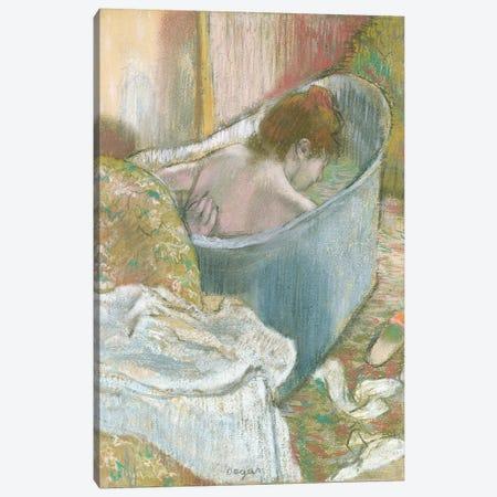 The Bath  Canvas Print #EDG61} by Edgar Degas Art Print