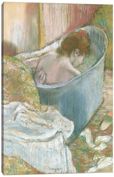 The Bath  Canvas Art Print
