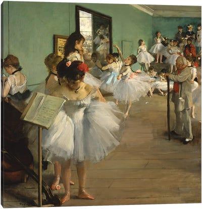 The Dance Class, 1873-74  Canvas Art Print