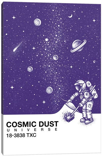 Cosmic Dust Canvas Art Print
